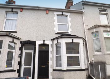 Thumbnail 2 bed terraced house for sale in Balmoral Avenue, Stoke, Plymouth