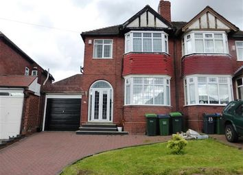 Thumbnail 3 bed semi-detached house to rent in Landswood Road, Oldbury