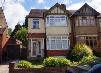 Thumbnail 3 bedroom semi-detached house to rent in Wardown Crecent, Luton, Bedfordshire