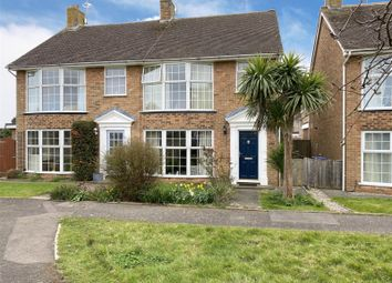 Thumbnail 3 bed semi-detached house for sale in Greenacres, Shoreham-By-Sea, West Sussex