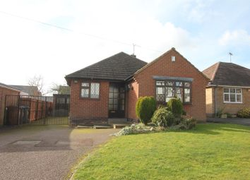 Thumbnail 2 bed detached bungalow for sale in Workhouse Lane, Burbage, Hinckley