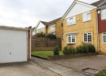 Thumbnail 3 bed end terrace house for sale in Macklands Way, Rainham, Kent