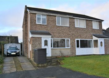 Thumbnail 3 bed semi-detached house for sale in Banks Grove, Golcar, Huddersfield