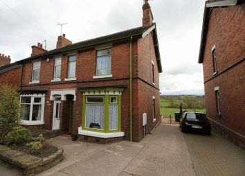 Thumbnail 2 bed semi-detached house for sale in Leek Road, Endon, Staffordshire