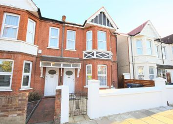 Thumbnail 3 bedroom flat to rent in Leighton Road, London