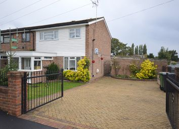 Thumbnail 3 bed end terrace house for sale in Gadesden Road, Epsom, Surrey.