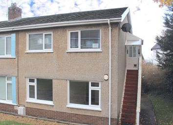 Thumbnail 3 bed flat for sale in Dolgoy Close, West Cross, Swansea