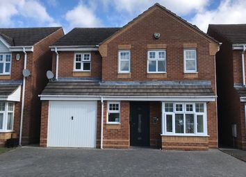Thumbnail 4 bed detached house for sale in Island Close, Albert Village