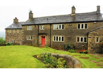 Thumbnail 4 bed detached house for sale in Derbyshire Level, Glossop