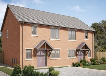 "Thumbnail 3 bedroom semi-detached house for sale in ""The Appleton"" at Garden House Drive, Acomb, Hexham"