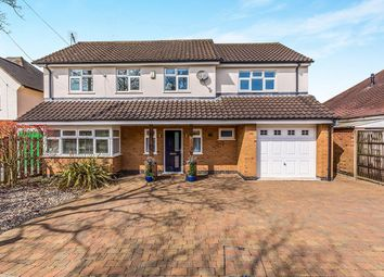 Thumbnail 5 bed detached house for sale in Boyslade Road East, Burbage, Hinckley