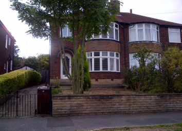 Thumbnail 3 bed semi-detached house to rent in Carr Manor Grove, Moortown, Leeds