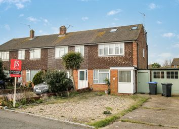 Thumbnail 4 bed end terrace house for sale in Southdownview Road, Broadwater, Worthing