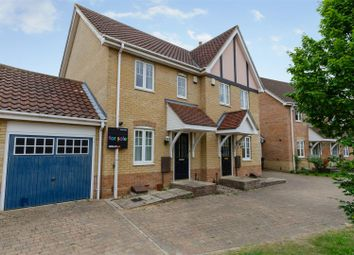 Thumbnail 2 bed semi-detached house for sale in Attelsey Way, Norwich