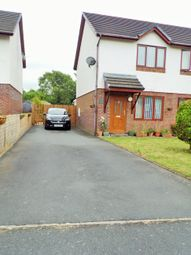 Thumbnail 2 bed semi-detached house for sale in Ger Y Llan, Penrhyncoch, Aberystwyth