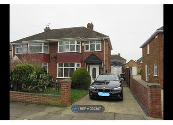 Thumbnail 3 bed semi-detached house to rent in Brookfield Road, Grimsby