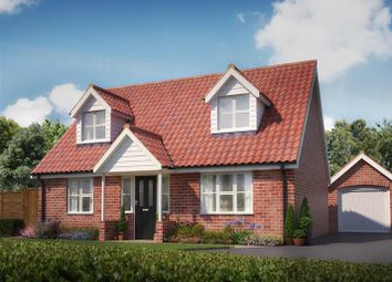 Thumbnail 3 bed bungalow for sale in Dunnetts Close, Ashill, Thetford