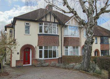 Thumbnail 3 bed semi-detached house for sale in Borough Lane, Saffron Walden