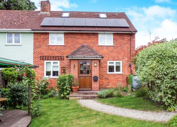 Thumbnail 3 bed semi-detached house for sale in The Crescent, Hurstbourne Tarrant, Andover