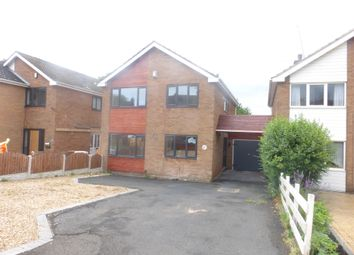 Thumbnail 4 bed detached house for sale in Oakham Road, Dudley