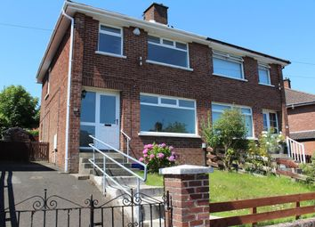 Thumbnail 3 bed semi-detached house for sale in Marmont Park, Belmont, Belfast