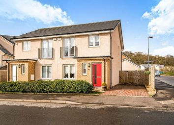 Thumbnail 3 bed semi-detached house for sale in Curlers Loan, Kilsyth, Glasgow