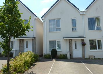 Thumbnail 2 bed semi-detached house to rent in Yellowmead Road, Ham, Plymouth