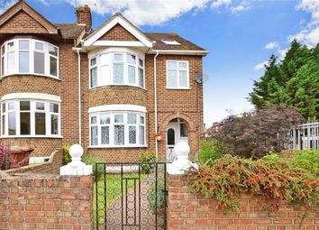 Thumbnail 3 bed end terrace house for sale in Woodlands Road, Gillingham, Kent