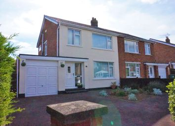 Thumbnail 3 bed semi-detached house for sale in Kildale Grove, Stockton-On-Tees