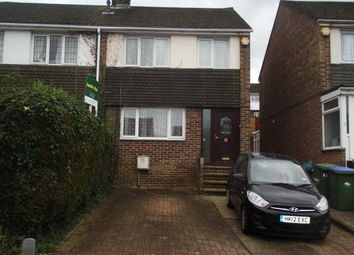 Thumbnail 3 bedroom end terrace house for sale in Crowther Close, Southampton
