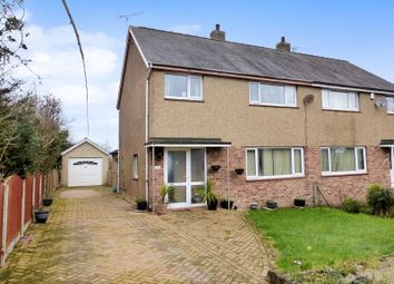 Thumbnail 4 bedroom semi-detached house for sale in Lon Y Deri, Bangor