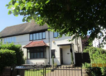 Thumbnail 4 bed semi-detached house to rent in Oakington Avenue, Wembley