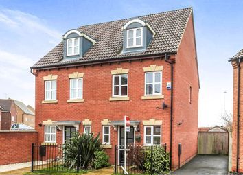 Thumbnail 3 bedroom semi-detached house for sale in Evergreen Drive, Hampton Hargate, Peterborough
