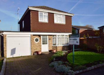 Thumbnail 4 bed detached house for sale in Ash Lodge Drive, Ash, Aldershot