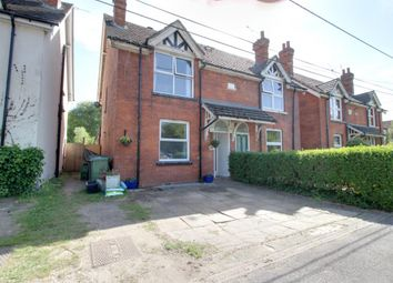Thumbnail 3 bed semi-detached house for sale in Cove Road, Fleet