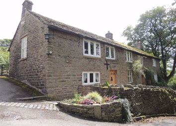 Thumbnail 3 bed farmhouse for sale in Hague Fold Road, New Mills, High Peak