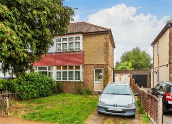 Thumbnail 2 bed semi-detached house for sale in Sidney Road, Walton-On-Thames, Surrey