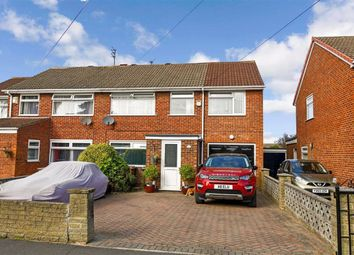 Thumbnail 4 bed semi-detached house for sale in Welbourn Walk, Hull