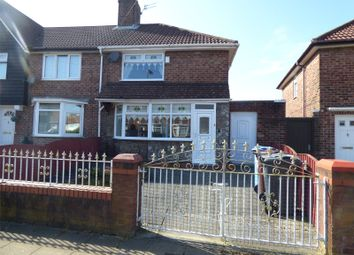 Thumbnail 3 bedroom end terrace house for sale in Saxby Road, Liverpool, Merseyside