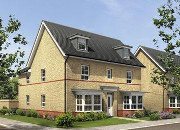 "Thumbnail 5 bed detached house for sale in ""Stratford"" at Warkton Lane, Barton Seagrave, Kettering"