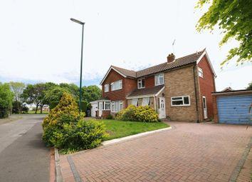 Thumbnail 3 bed semi-detached house for sale in Merton Close, Bognor Regis