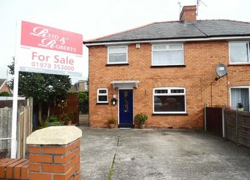 Thumbnail 3 bed semi-detached house for sale in Grange Avenue, Wrexham