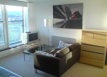 Thumbnail 1 bed flat to rent in Lady Isle House, Prospect Place, Cardiff Bay, Cardiff