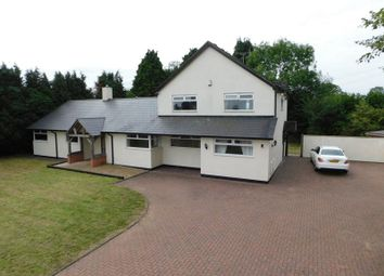 Thumbnail 5 bed detached house for sale in Newport Road, Haughton, Stafford