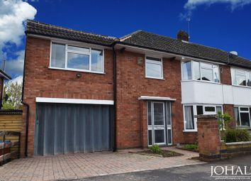 Thumbnail 4 bed semi-detached house to rent in Highcroft Avenue, Leicester