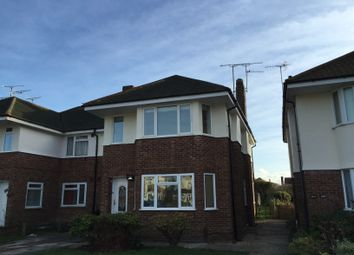 Thumbnail 3 bed flat to rent in Ardingly Drive, Goring-By-Sea, Worthing