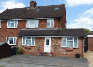 Thumbnail 4 bed semi-detached house for sale in Waborne Road, Bourne End