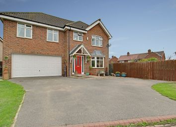 Thumbnail 4 bed detached house for sale in Rise Close, Long Riston, Hull