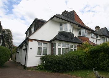 Thumbnail 2 bed semi-detached house to rent in Haileybury Avenue, Enfield