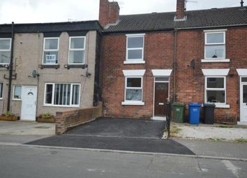 2 bed terraced house for sale in South Street North, New Whittington, Chesterfield, Derbyshire S43